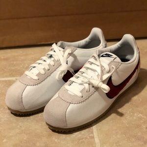 Nike Classic Cortez Premium White Red